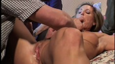 Mrs S Raynes loves to be treated like a slut while her hubby watches