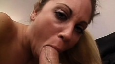 Barely legal beauties both want this throbbing rod inside of them