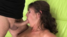 Horny milf indulges in a hardcore affair with her daughter's boyfriend
